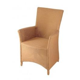 Lloyd-loom stoel 3504 hoog